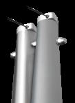 Mastot ovat alumiinisia tai ruostumattomasta teräksestä